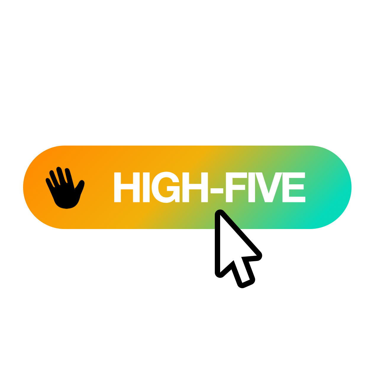 High-five button